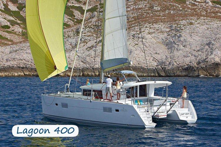 Have fun in Italy aboard 40' Cruising Catamaran