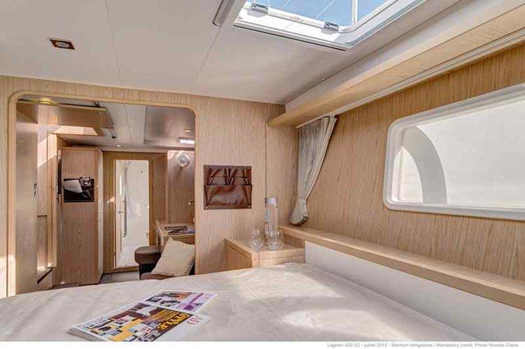 Catamaran boat rental in Aeolian Islands, Italy