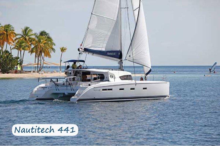 Set sail in Elba, Italy aboard Nautitech 441