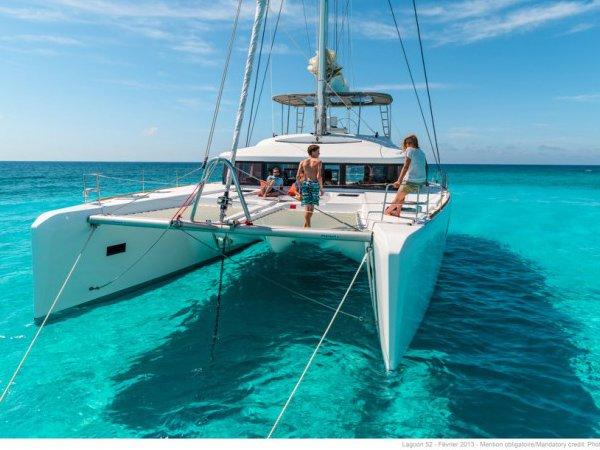 Induldge in luxury in Italy aboard 52' cruising catamaran