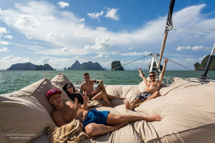 Discover Phuket surroundings on this Custom Custom boat