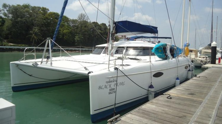 Rent a 40' Fountaine Pajot Lavezzi in Phuket, Thailand