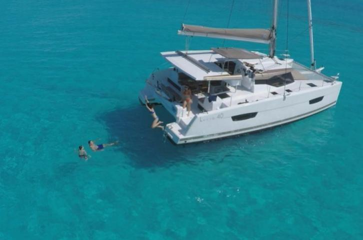 Set sail in Phuket, Thailand aboard 40' Fountaine Pajot Lucia