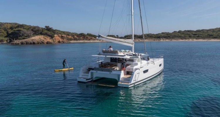 Boat for rent Fountaine Pajot 45.8 feet in Phuket, Thailand