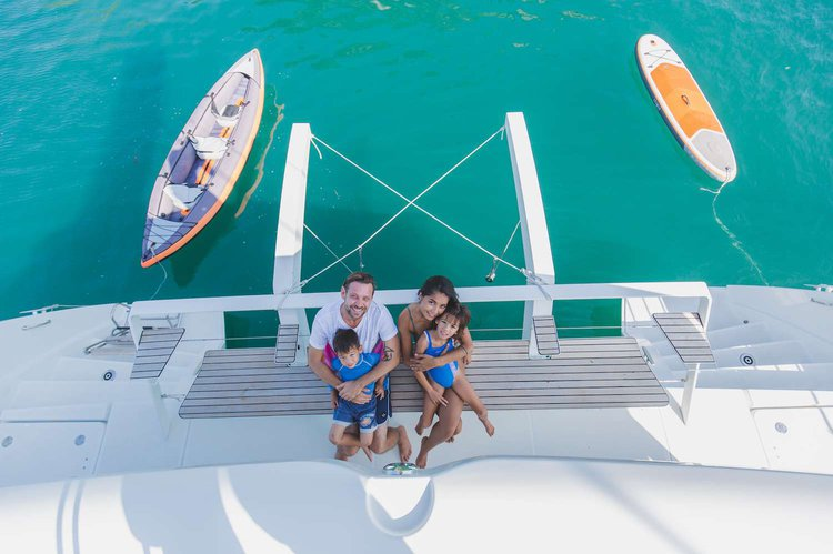 Discover Phuket surroundings on this 52F Lagoon boat