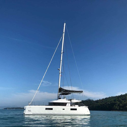 Catamaran boat rental in Ao Po Grand Marina, Thailand