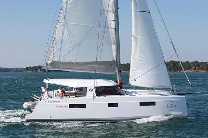 Catamaran boat rental in Phuket, Thailand