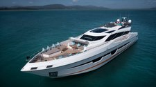 Enjoy cruising in Phuket, Thailand aboard 105' power mega yacht
