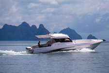 Fabulous 36' Silver Craft available for charter in Phuket, Thailand