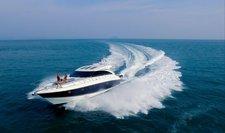 Induldge in luxury in Phuket, Thailand aboard 56 ft motor yacht