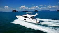 Cruise in style in Phuket, Thailand aboard 64' motor yacht