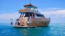 Set sail in Phuket, Thailand aboard 74' Luxurious motor yacht