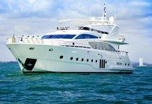 Fun in sun in Phuket, Thailand aboard 97' Luxurious motor yacht