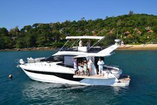 Enjoy cruising in Phuket, Thailand aboard Galeon 460 Flybridge