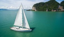 Set your dreams in motion in Phuket, Thailand aboard 104 ft sloop