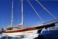 Enjoy cruising in Bodrum, Turkey aboard 112 classic sailing yacht