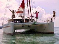 Charter a 62' cruising catamaran in Phuket, Thailand