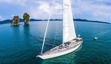 Charter a 87' Nautor's Swan in Phuket, Thailand