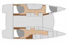 thumbnail-11 Fountaine Pajot 39.0 feet, boat for rent in Key West, FL