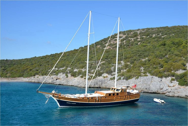 Charter a 27m Gulet in Bodrum
