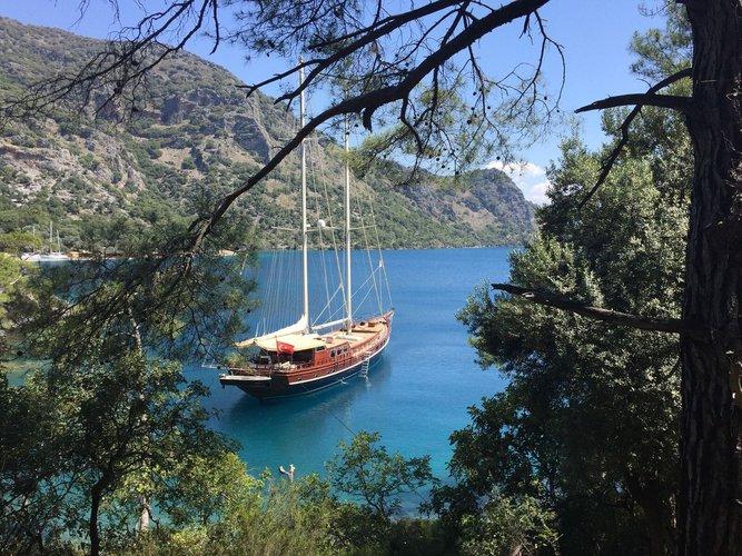 Classic boat rental in Bodrum/Muğla, Turkey