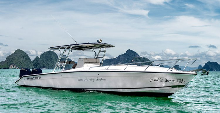 Enjoy cruising in Phuket, Thailand aboard  Marlin 350 SF