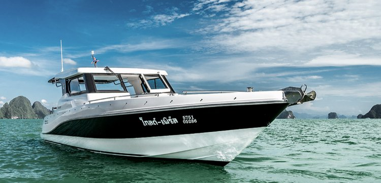 Have fun in Phuket, Thailand aboard 36' Silver Craft