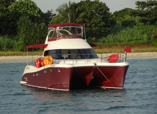 Boating is fun with a Catamaran in Sentosa Cove