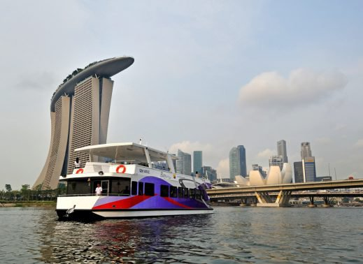 Cruise in style in Singapore aboard 57' elegant catamaran
