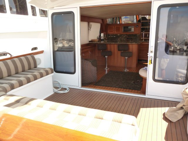 Discover Marina Del Rey surroundings on this Custom Custom boat