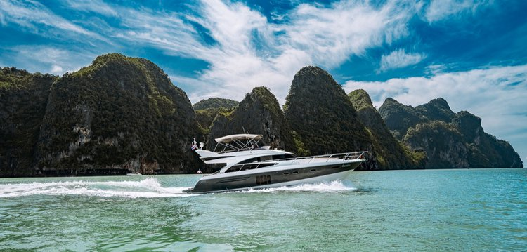 Cruise in style in Phuket, Thailand aboard Mayavee 60