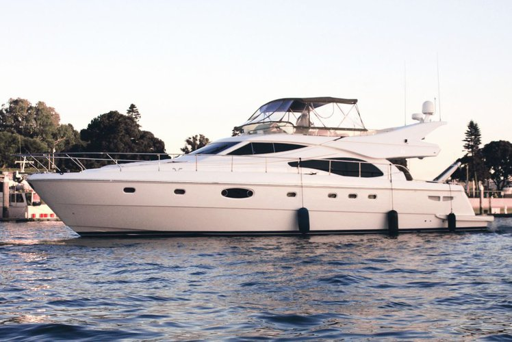 Elegance and Luxury on board UNIQ Feretti 62'