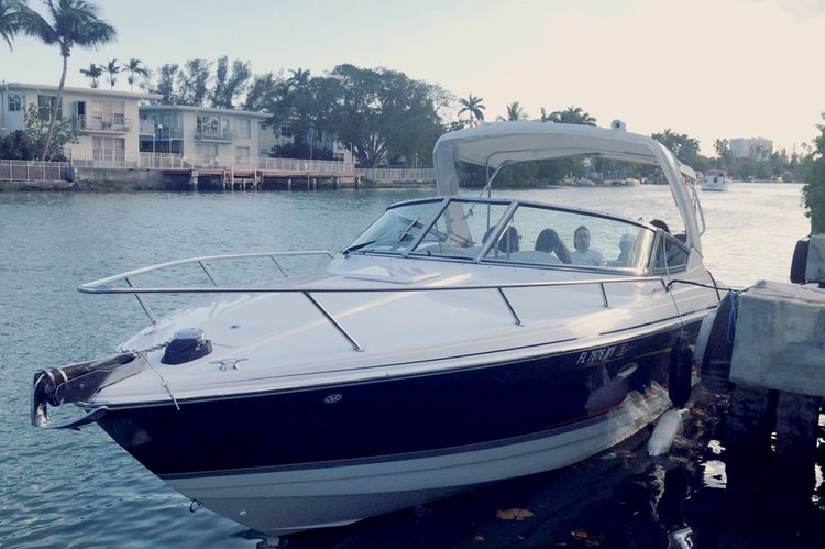 Up to 6 persons can enjoy a ride on this Cruiser boat