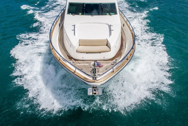 Motor yacht boat rental in MBM - Miami Beach Marina,