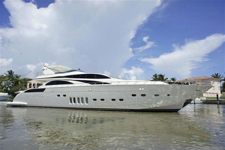 Mega Yacht 105' Leopard Flybridge.