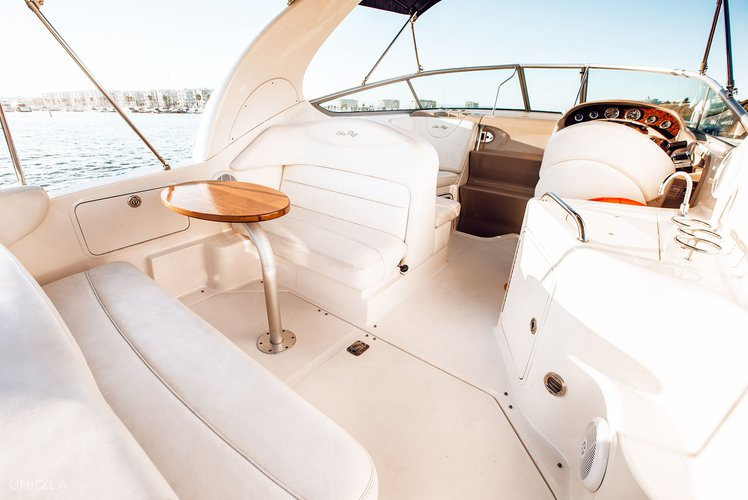Boating is fun with a Cruiser in Marina Del Rey