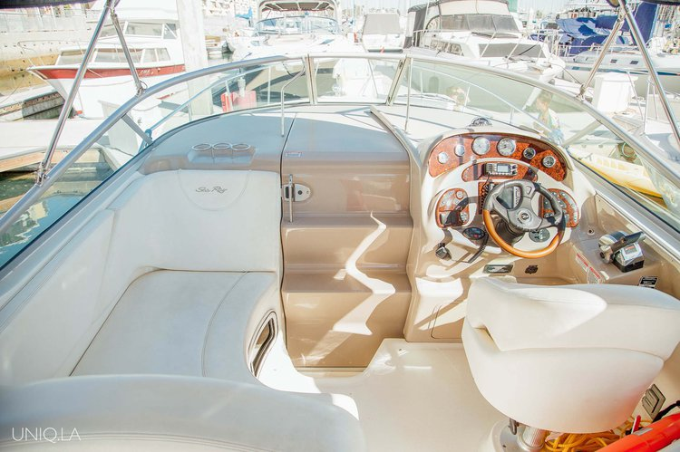 Discover Marina Del Rey surroundings on this Sundancer Yacht UNIQ boat