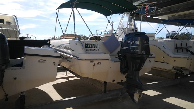20ft Hurricane Tarpon Springs gas included! 8hrs!
