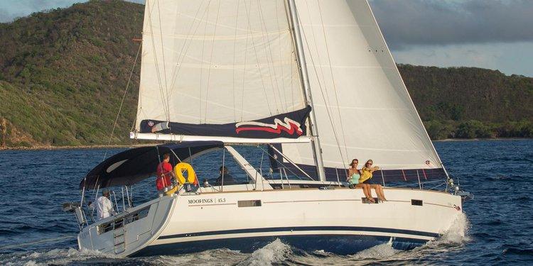 Beneteau's 45.3 feet in St. John
