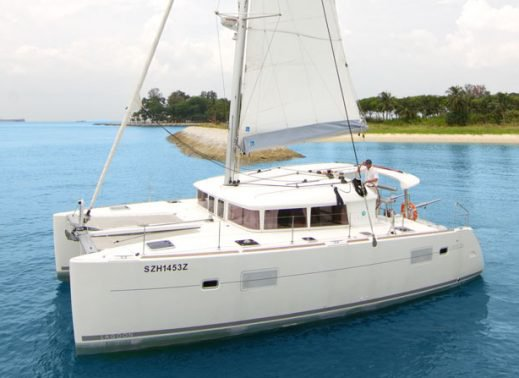 Charter a 40' Cruising Catamaran in Singapore