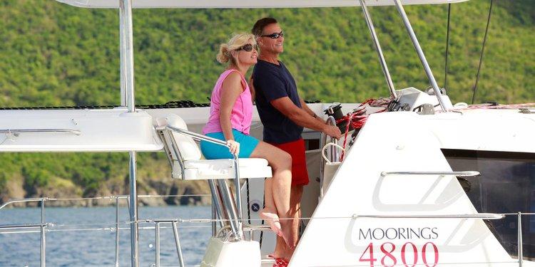 Boating is fun with a Catamaran in St. John