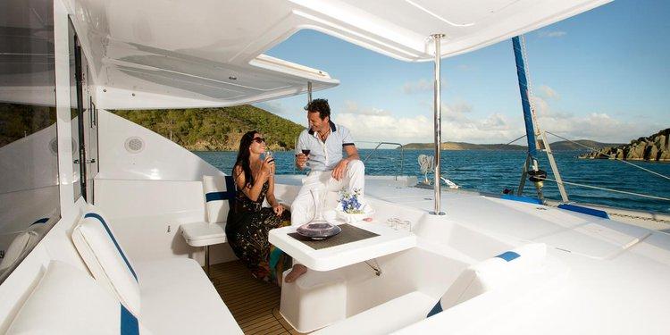 Catamaran boat rental in St. John,
