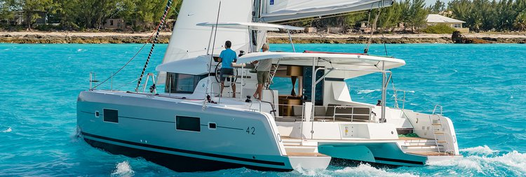 Rent a 42' cruising catamaran in Phuket, Thailand