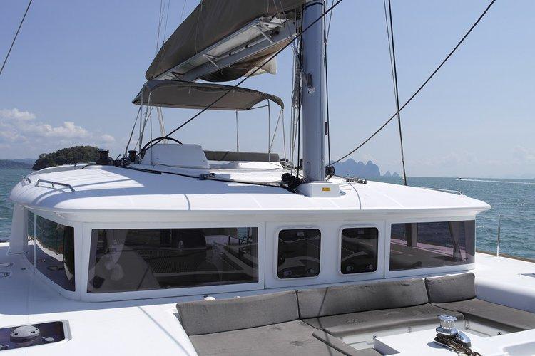 Catamaran boat rental in Ao Po Grand Marina, Thailand