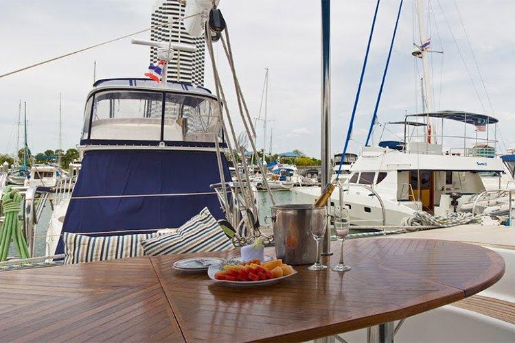 Catamaran boat rental in Ocean Marina Yacht Club, Thailand