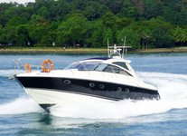 Set sail in Sentosa Cove, Singapore aboard  Princess V48