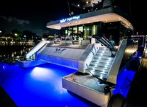 Charter a 68' Power Catamaran in Sentosa Cove, Singapore