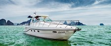 Explore the Andaman Sea with a 36' Oryx Sport Cruiser