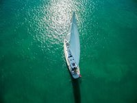Week-long cruises on a 104' cruising monohull
