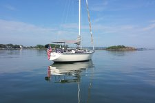 Sail on a classy 35' Yacht in the Thimbles Islands, CT